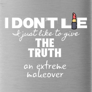 I don't lie I just give the truth a makeover - Water Bottle