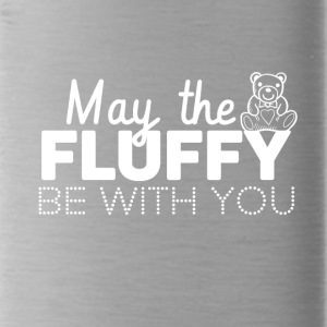 May the fluffly be with you - Water Bottle