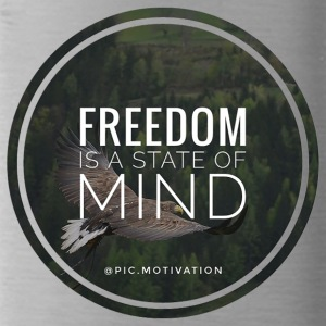freedom of mind - Water Bottle