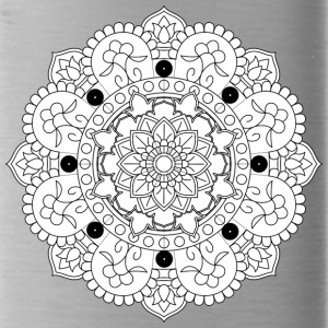 chakraan mandala decorative ornament design - Water Bottle