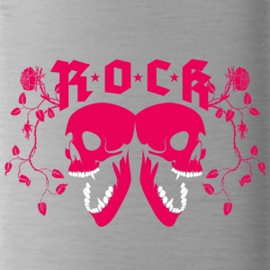 ROCK SKULLS - Water Bottle