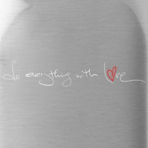 do everything with love - Water Bottle