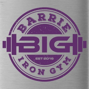 The Barrie Iron Gym Deep Purple - Water Bottle