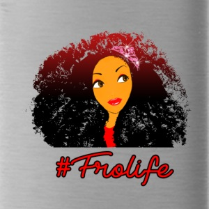 Fro life- Afro is life - Water Bottle