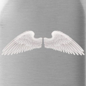 angel wings angelic wings vector - Water Bottle