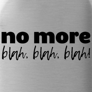 no-more-blah-black - Water Bottle