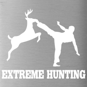 Extreme hunting deer karate kick - Water Bottle