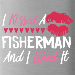 I KISSED A FISHERMAN SHIRT - Water Bottle