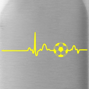 EKG HEARTBEAT BALL yellow - Water Bottle