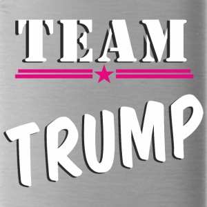 TeamTrump white - Water Bottle