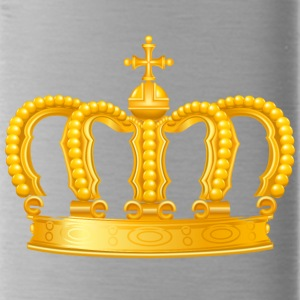 Royal King golden crown vip Monarch jewel - Water Bottle
