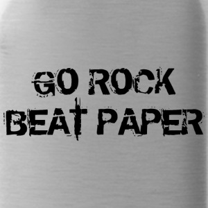 Go Rock Beat Paper Remix - Water Bottle