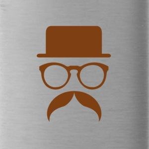 Hipster Brown - Water Bottle