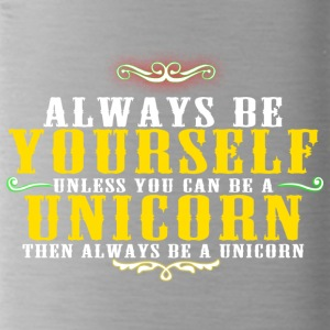 THEN ALWAYS BE A UNICORN T-SHIRT - Water Bottle