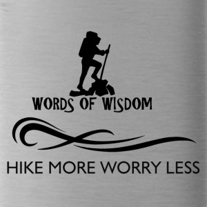Hike More Worry Less - Water Bottle
