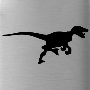 Dinosaur vector Silhouette - Water Bottle