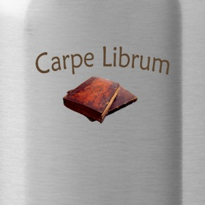 Carpe Librum ( Seize the Book) - Water Bottle
