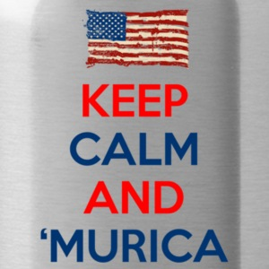 Keep Calm And Murica - Water Bottle