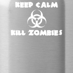 Keep Calm Kill Zombies - Water Bottle