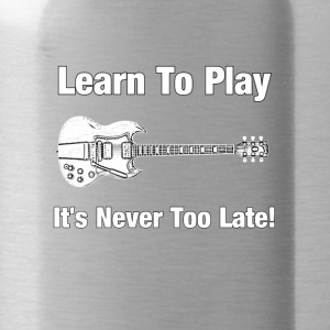 Learn to play guitar - Water Bottle
