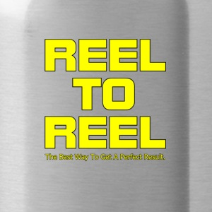 Reel To Reel yellow color - Water Bottle