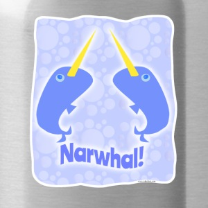Double Narwhal Duel - Water Bottle