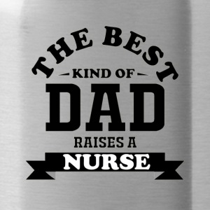 Fathers day gift nurse - Water Bottle