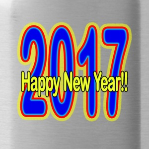 Happy_New_Year - Water Bottle