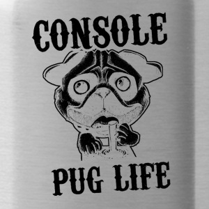 Console pug life - Water Bottle