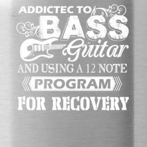Bass Guitar Shirt - Water Bottle