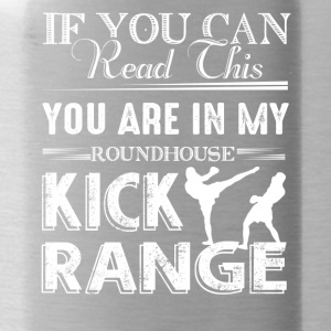 Roundhouse Kick Range Shirt - Water Bottle