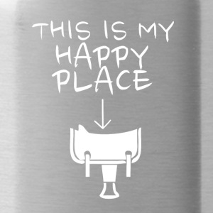 Happy Place Western Riding - Water Bottle