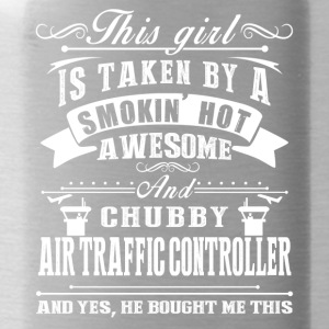 Awesome Air Traffic Controller Shirt - Water Bottle