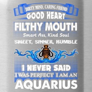 I Never Said I Was Perfect I Am An Aquarius Shirt - Water Bottle