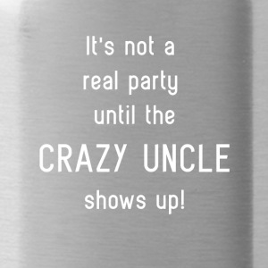 Crazy Uncle Party - Water Bottle