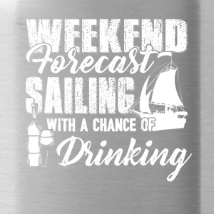 Weekend Forecast Sailing Shirt - Water Bottle
