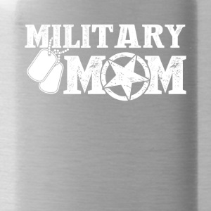 Military Mom Tee Shirt - Water Bottle