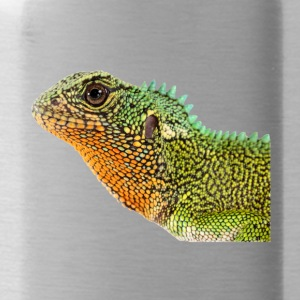 Iguana, lizard, reptile - Water Bottle