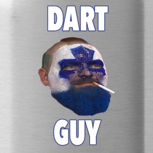Dart Guy Funny Toronto Maple Leaf Tee Shirt - Water Bottle