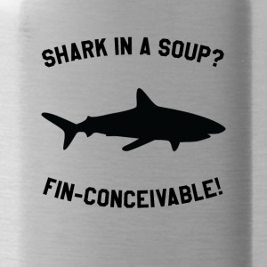 Shark In A Soup? FIN-CONCEIVABLE! - Water Bottle