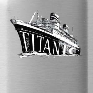 Titanic Historical Graphic Tee Shirt - Water Bottle