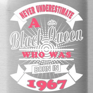 Black Queens are born in 1967 - Water Bottle