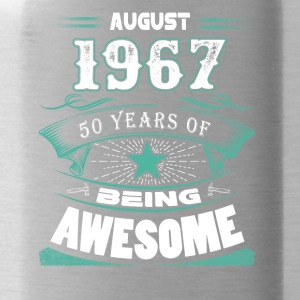 August 1967 - 50 years of being awesome - Water Bottle