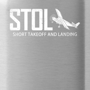 STOL Short Takeoff and Landing Aircraft Pilots - Water Bottle