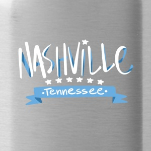 Tennessee Nashville, The Place To Be U.S T-Shirt - Water Bottle