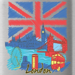 london - Water Bottle