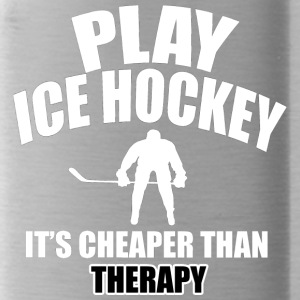 ice hockey designs - Water Bottle