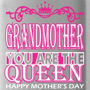 Grandmother You Are The Queen Happy Mothers Day - Water Bottle