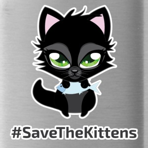 #SaveTheKittens - Water Bottle