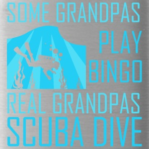 Some Grandpas Play Bingo Real Grandpas Scuba Dive - Water Bottle